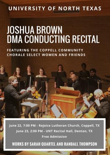 Recital Poster